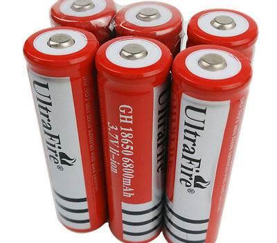 UltraFire 3.7V 18650 Li-ion 6800mAh 1ks
