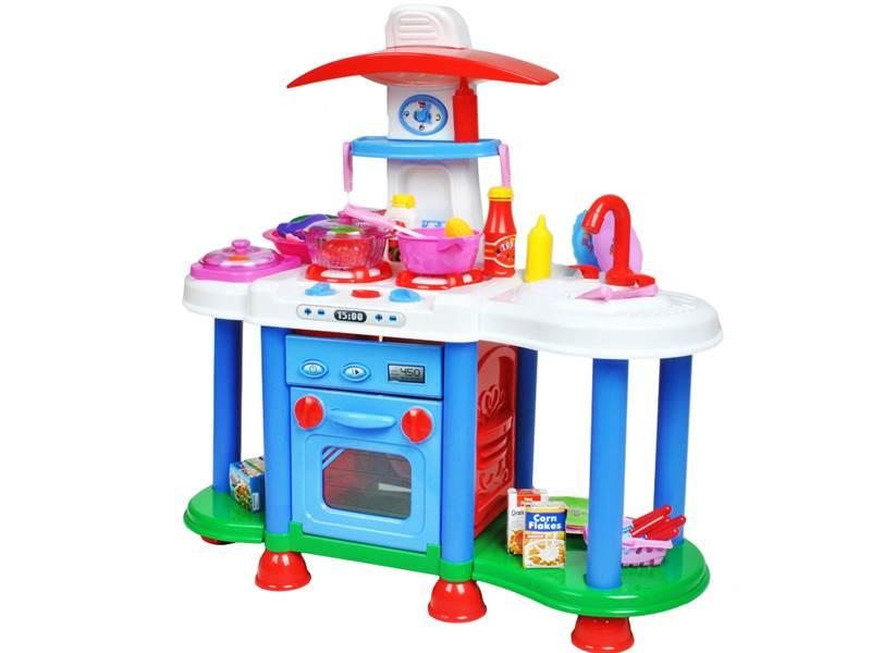 ISO XL 1496 Kuchyně s příslušenstvím pro holčičky