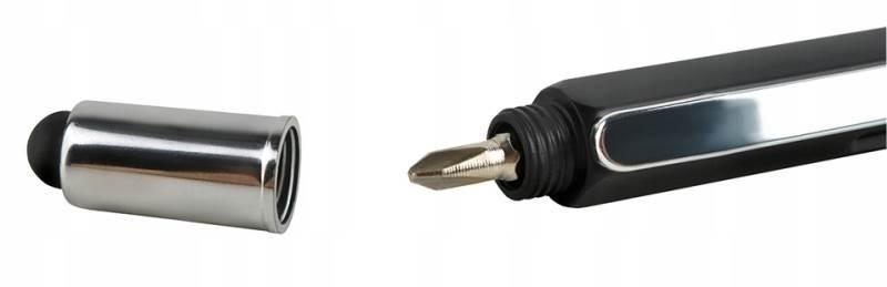 ISO 6337 Viacúčelové pero 6 v 1 čierna7