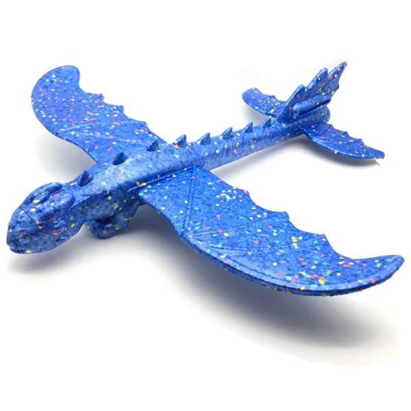 KIK Penové hádzací lietadlo Dinosaur