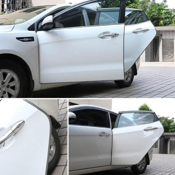 GFT Ochranné lišty na auto 5m šedá