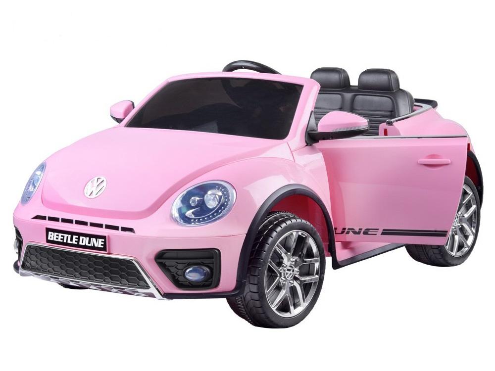 Joko PA0210 RO Elektrické autíčko Volkswagen Beetle 2,4 GHz růžové