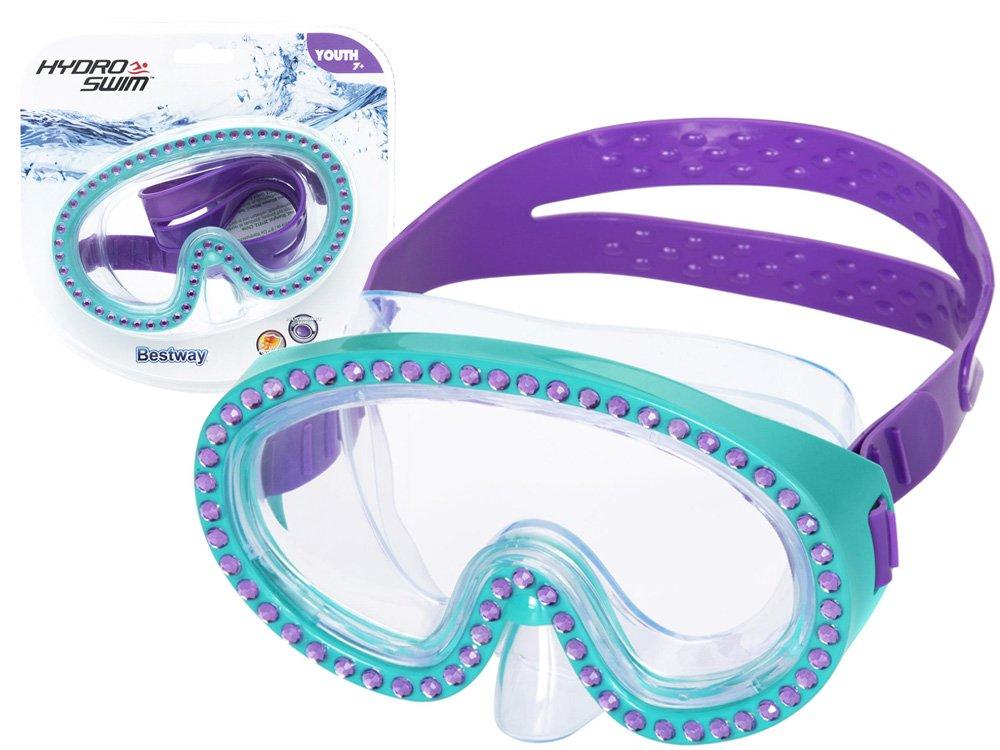 Bestway 22062 Potápačská maska s kryštálmi modrá