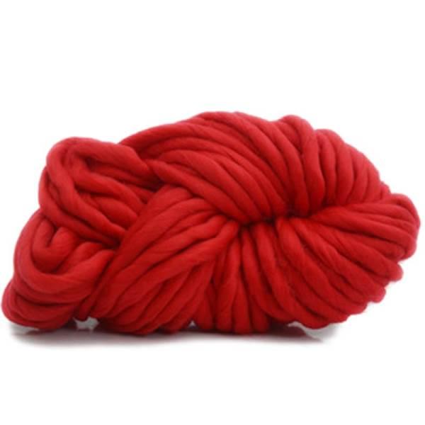 GFT Priadza pre ručné pletenie červená 31m