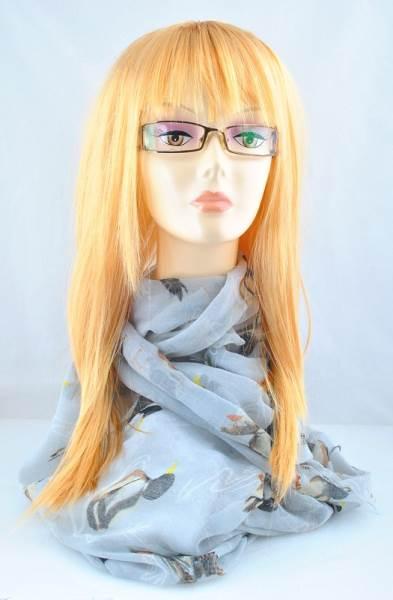 ISO Dámská paruka blond dlouhá