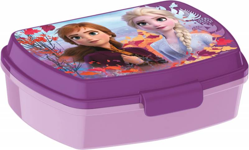 Javoli Box na desiatu Disney Frozen fialový