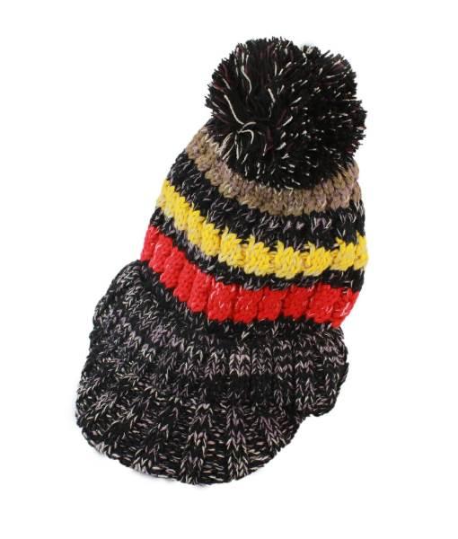 APT Dámska zimná čiapka s nákrčníkom čierna3