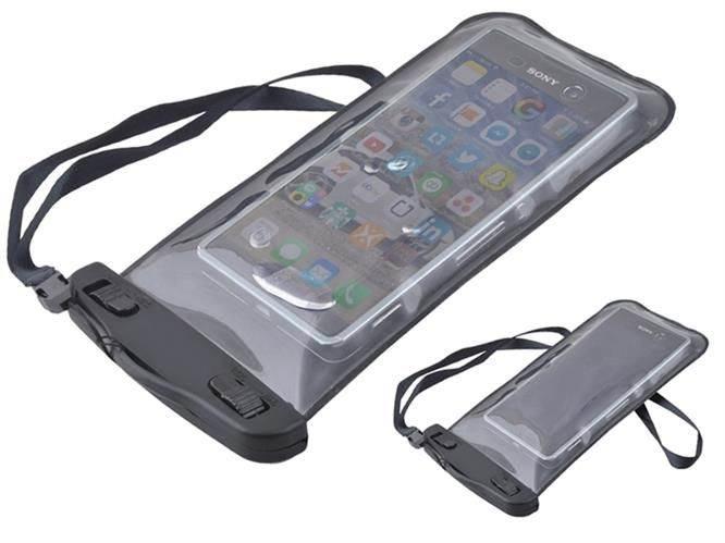 Verk Vodeodolné púzdro na telefón čierne