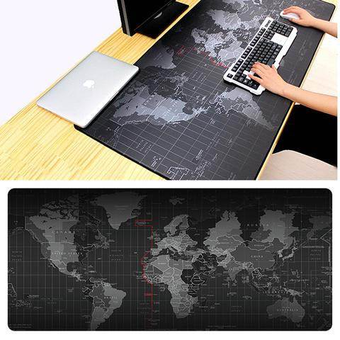 KIK Podložka pod myš XXL mapa sveta 40x90cm