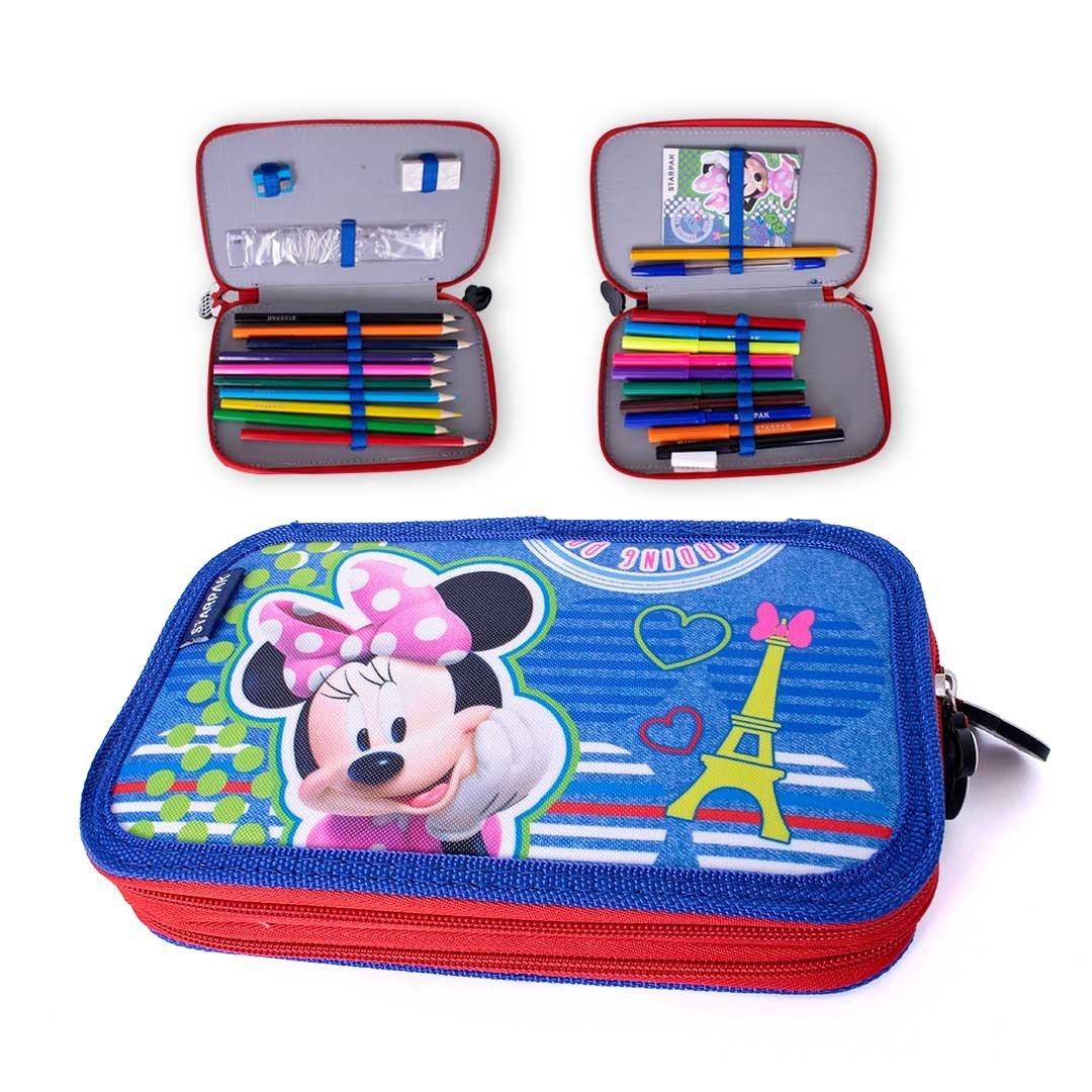 Javoli Penál s vybavením - Disney Minnie
