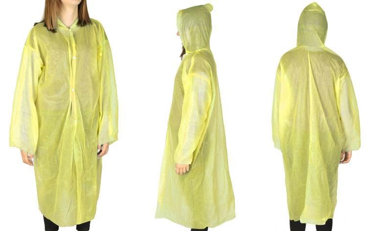 ISO Pláštenka žltá 2mm