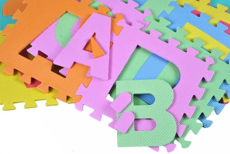 EVA Penové puzzle 30 x 30cm - 36 ks5