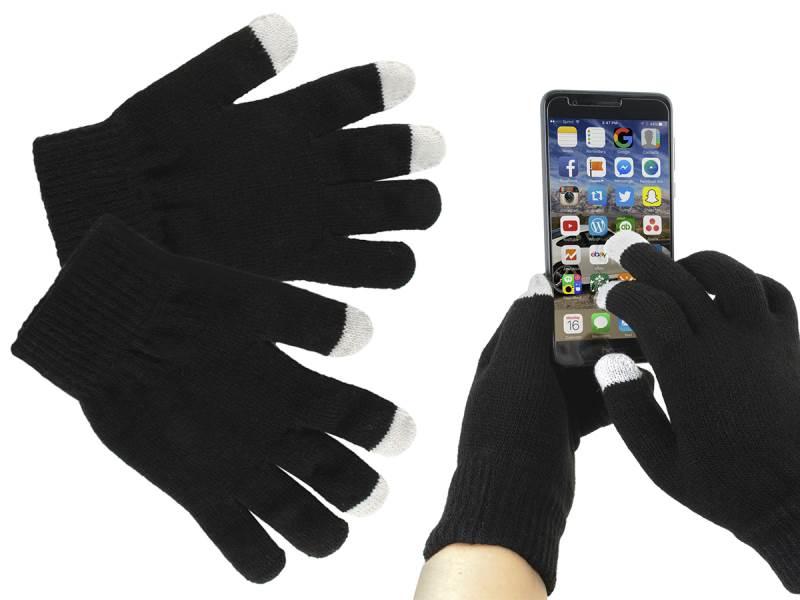 ISO 4356 Rukavice na ovládání dotykových displejů černé
