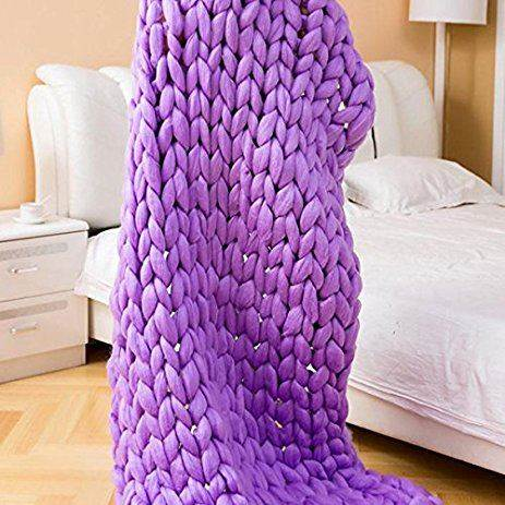GFT Priadza pre ručné pletenie fialová 31m