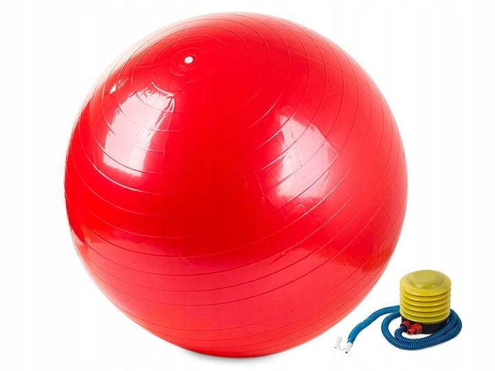 Verk Gymnastická lopta s pumpičkou 75 cm červená