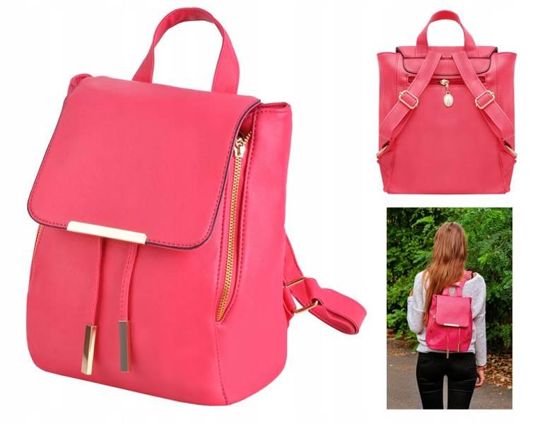 ISO 6786 Dámský městský batoh růžová