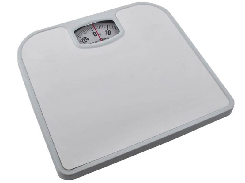 ISO 3460 Váha osobní mechanická bílá 130kg