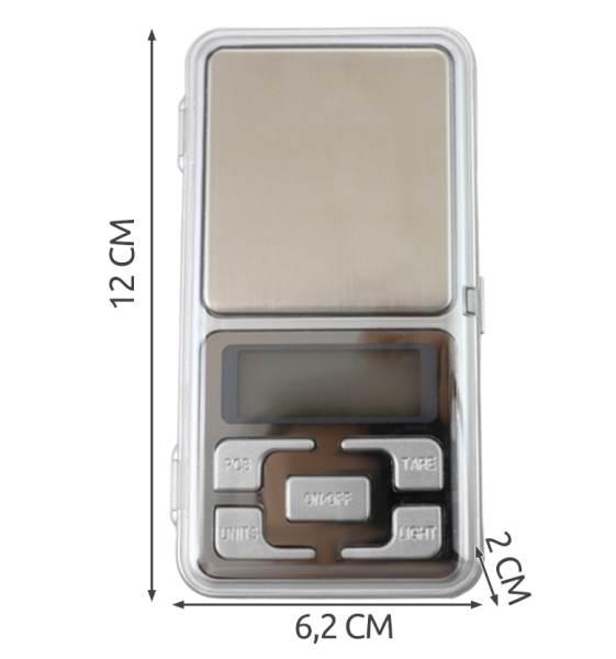 ISO 135 Digitálná vrecková váha 200g / 0,01g3