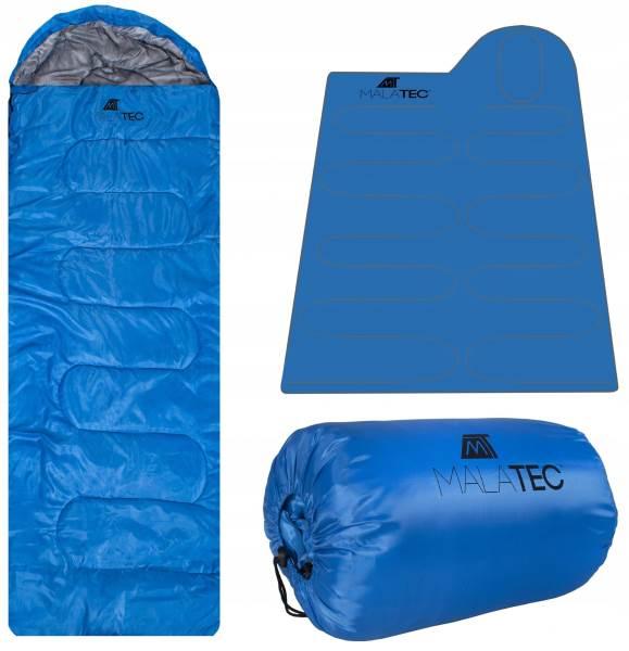 Malatec 10250 Spacák Múmia 200 cm modrý