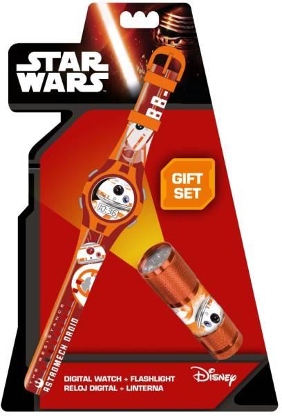 Javoli Darčeková sada Star Wars Hodinky a LED baterka