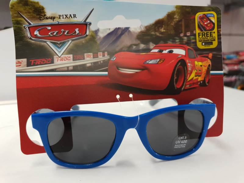 Javoli Slnečné okuliare pre deti Disney Cars tmavo modré