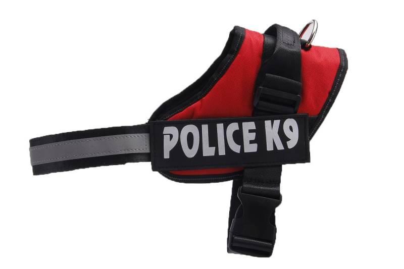 KIK KX7744 Postroj pro psa Police K9 XXL