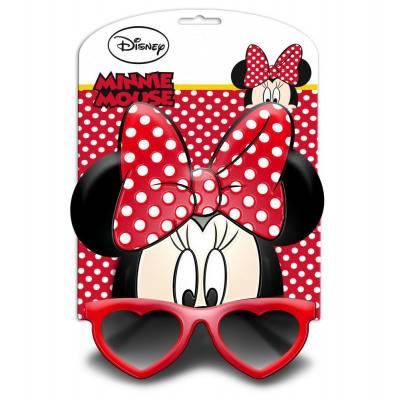 Javoli Slnečné okuliare pre deti 3D Disney Minnie červené