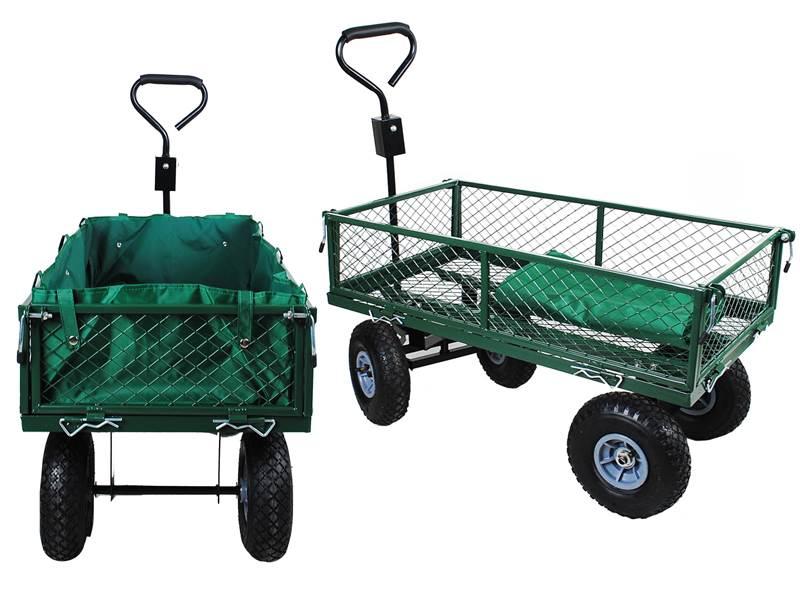 Malatec WO-579 Zahradní vozík s výklopnými boky
