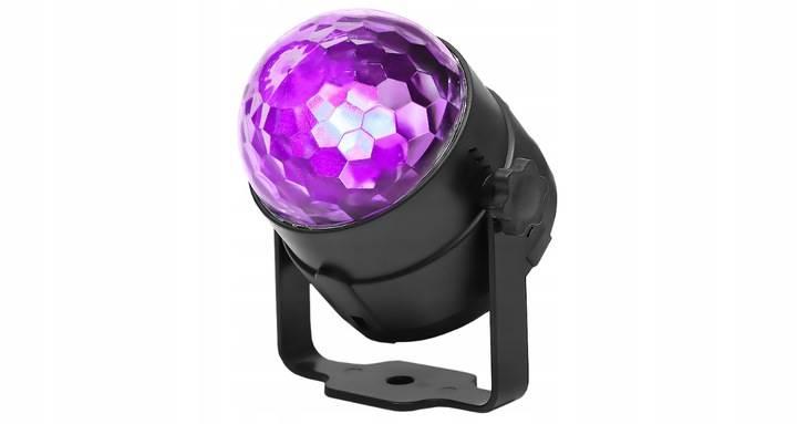 ISO 7056 LED disko gule s diaľkovým ovládaním4