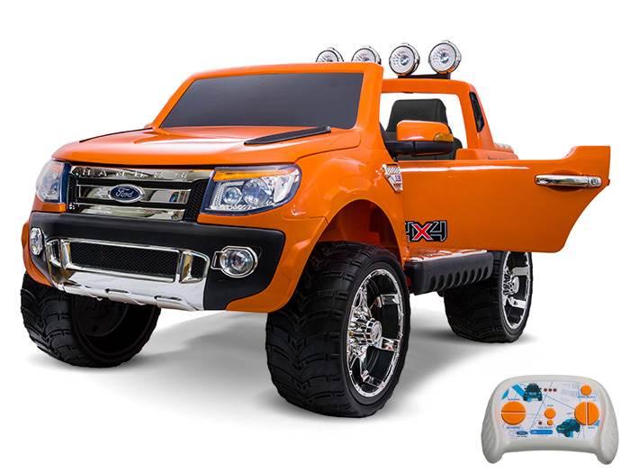 Joko PA0103 PO Elektrické autíčko Ford Ranger Wildtrak 2,4 GHz oranžové