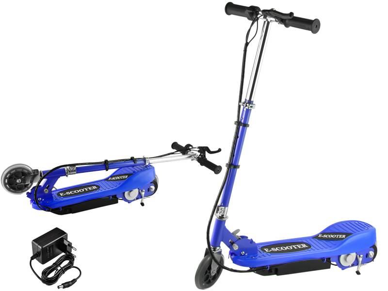 Malatec 5793 Elektrická kolobežka E-Scooter modrá
