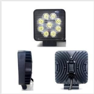 APT ZD21 LED Pracovní světlo, hranaté, 27W, 2200 lm, 12-24V, IP67