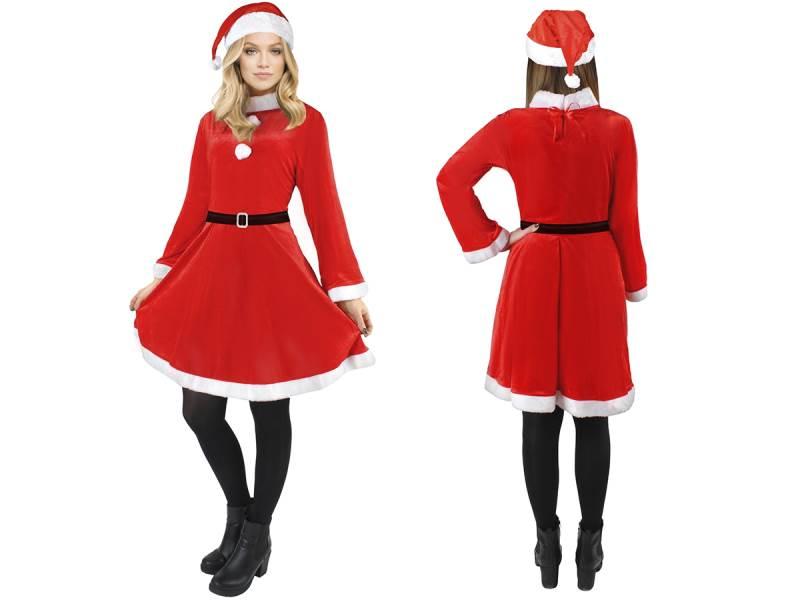 Kostým Santa Claus - dámsky