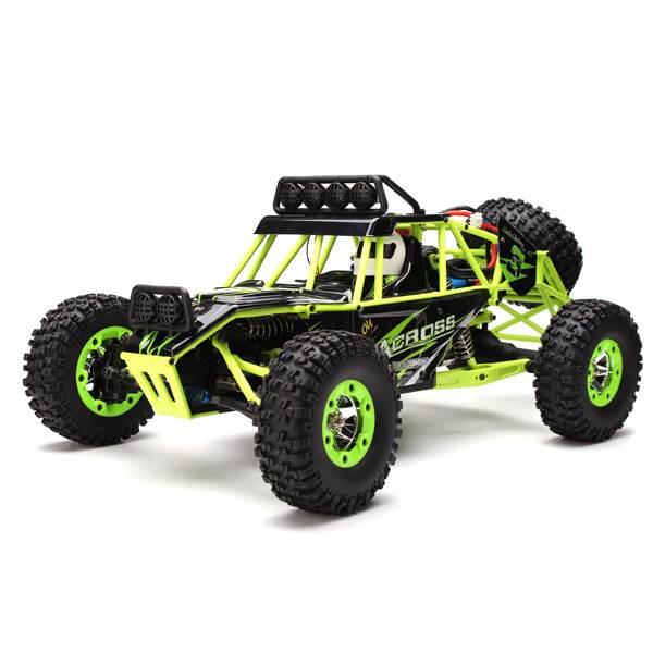 WL toys VODĚODOLNÁ Buggy 12428 1:12 zelená
