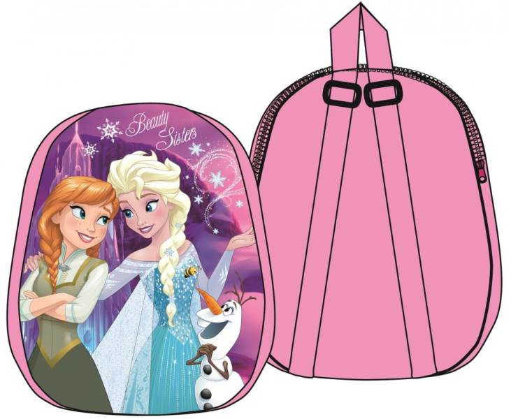 Javoli Detský batoh Disney Frozen 31 x 25 x 4 cm ružový