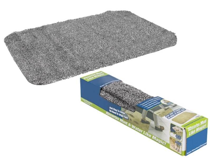 Clean Step Mat - rohožka Vysoce absorbční - šedá 70x46 cm