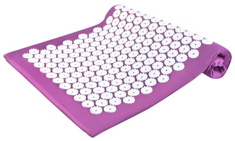 ISO 5894 Akupresurní podložka 65 x 41 cm fialová