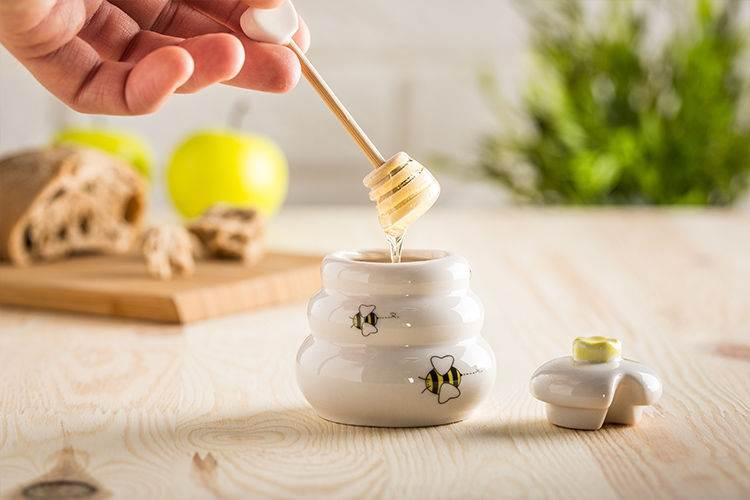 Master Porcelánová nádoba na med