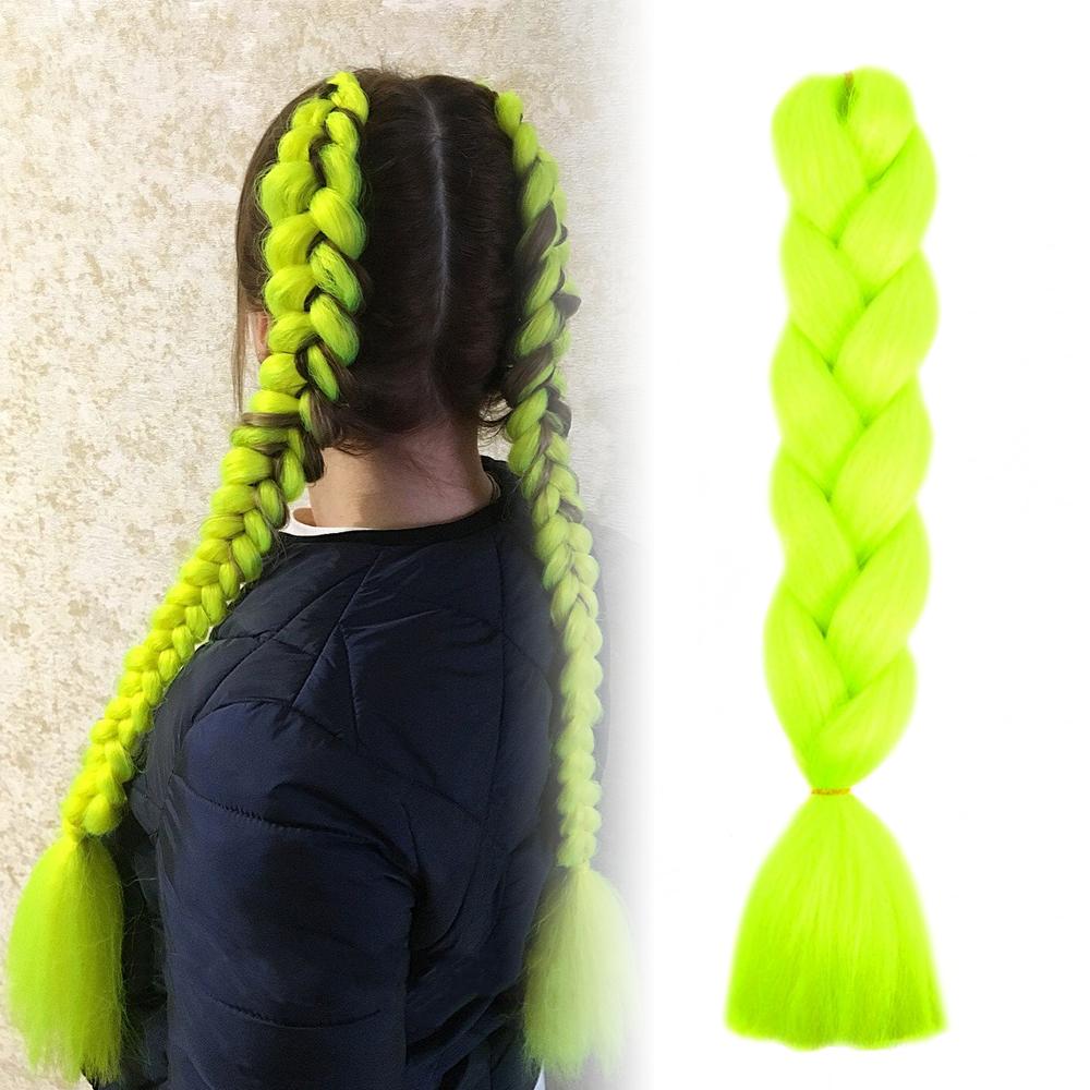 GFT Vlasový příčesek - zelenožlutý