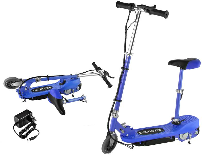 Malatec 5790 Elektrická kolobežka E-Scooter modrá