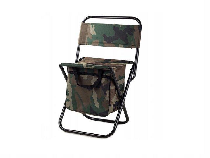 Verk 01234 Kempingová skladacie stoličky s brašňou 2v1