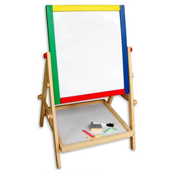 KIK KX8994 Oboustranná tabule pro děti 65 x 35 x 37 cm