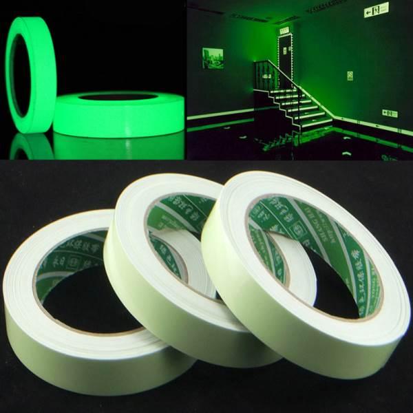 KIK Bezpečnostné svietiace páska 10 mm x 3 m