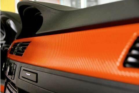 GFT Karbonová fólie 30 x 127 cm oranžová