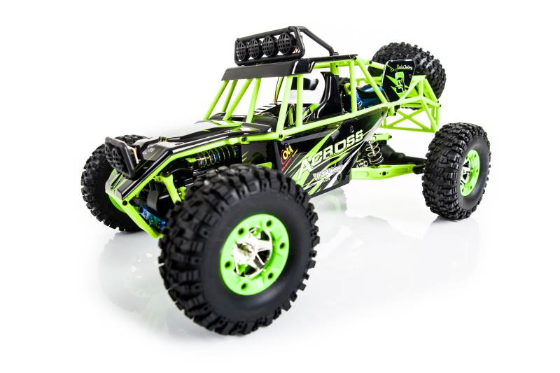 WL toys VODĚODOLNÁ Buggy 12428 1:12 zelená8