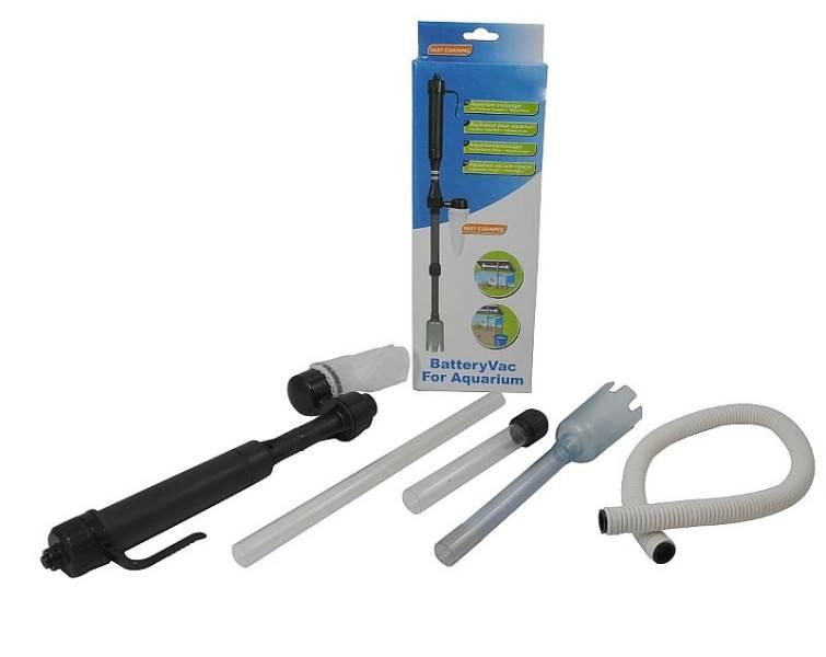 ISO 678 Bateriový odkalovač akvária