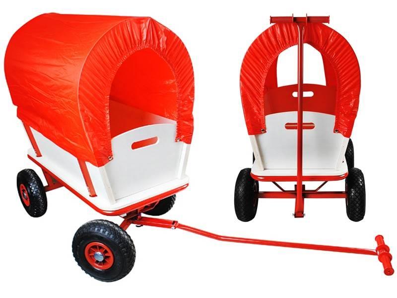 Zahradní vozík s plachtou 150 Kg - WO-860