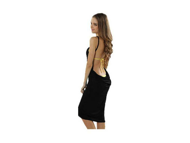 APT Plážové šaty čiernej