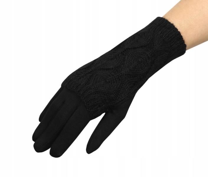 ISO 6413 Zimní rukavice na dotykové displeje 2v1 černé11