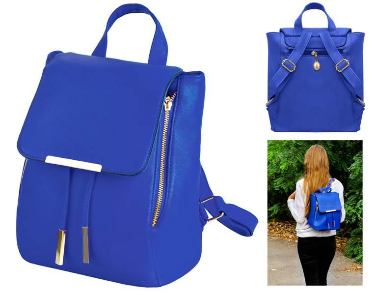 ISO 6785 Dámský městský batoh modrá